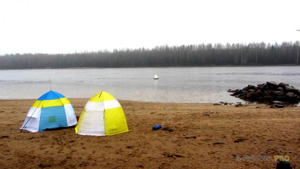 Отчеты с водоемов: Разведка на реку Свирь в предверии ловли налима.