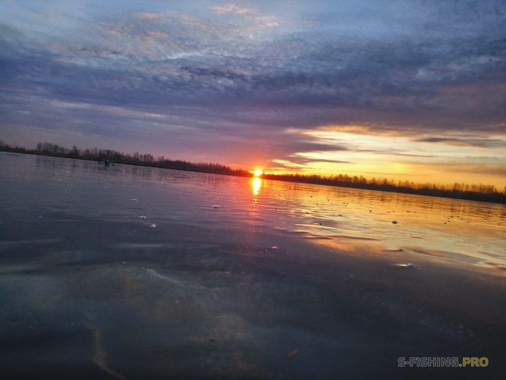 Отчеты с водоемов: Открытие сезона по зимней блесне.