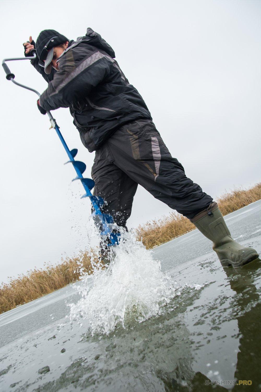 Отчеты с водоемов: Зимнее открытие со льда.