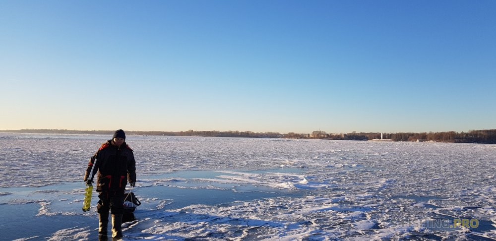 Отчеты с водоемов: Перволедок на Горьковском моречке