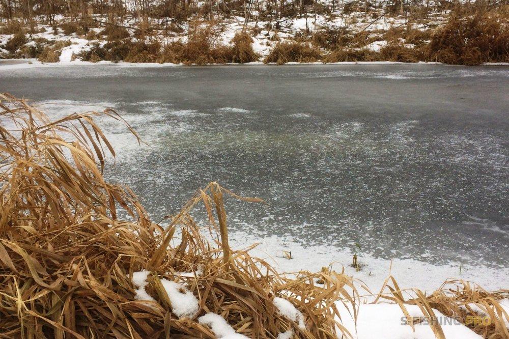 Отчеты с водоемов: Новый зимний спиннинг