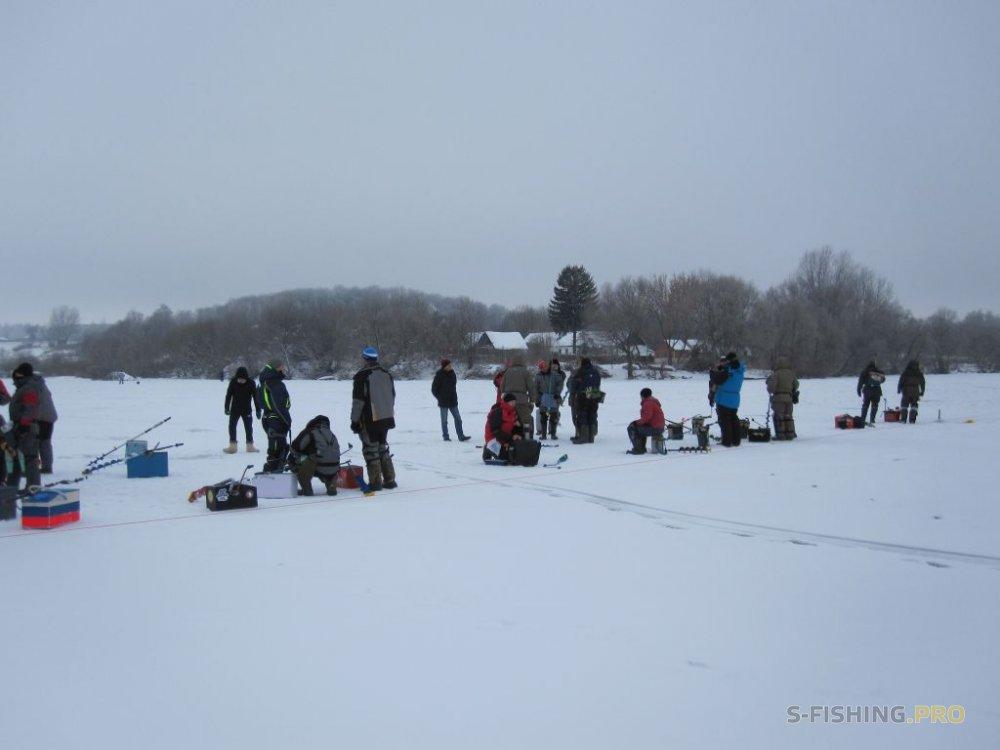 Отчеты с водоемов: Открытие зимнего соревновательного сезона
