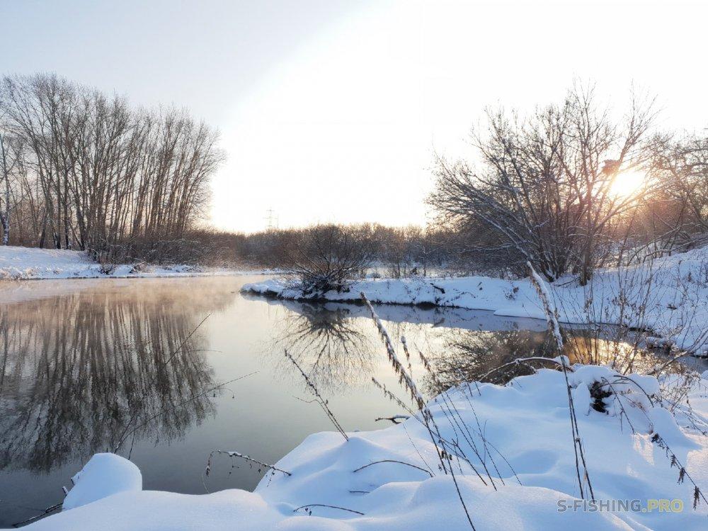 Отчеты с водоемов: Хороший зимний денек