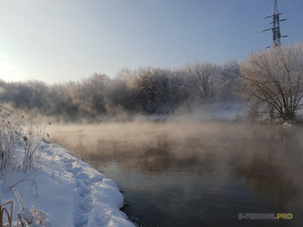 Отчеты с водоемов: Очередная прогулка по заснеженному Миассу