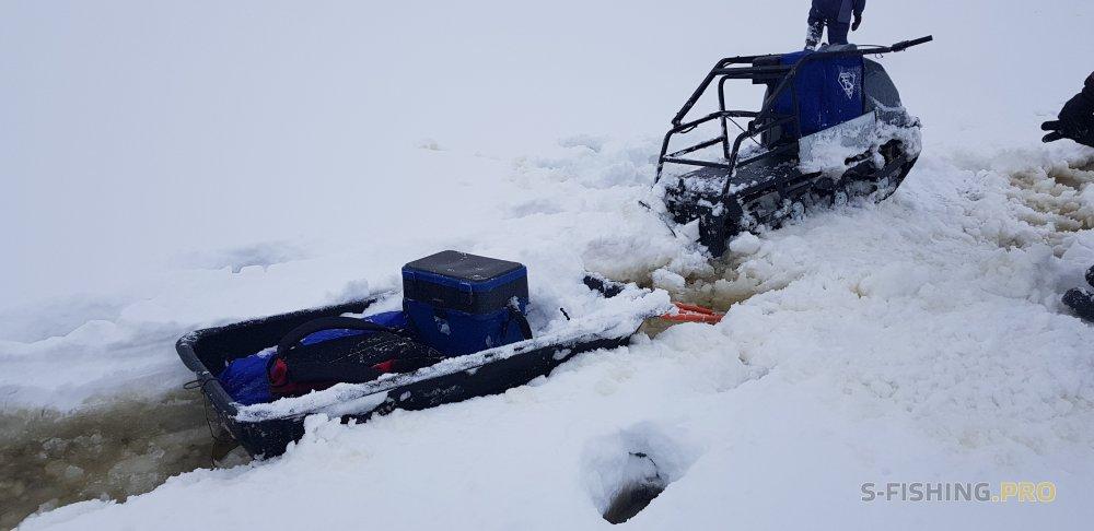 Отчеты с водоемов: Снежно-водный плен...