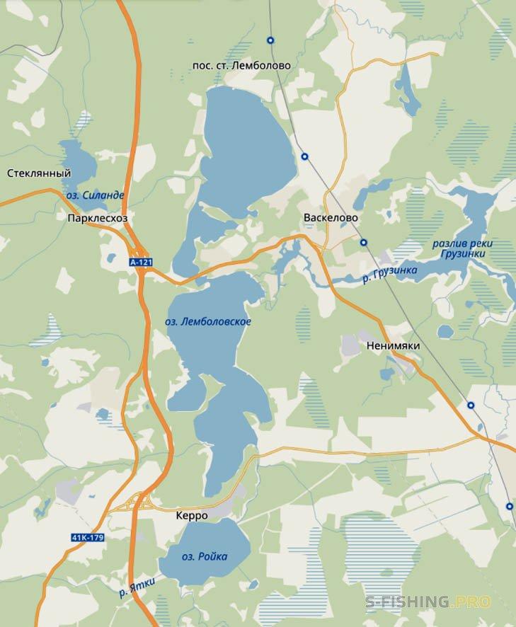 Отчеты с водоемов: Лемболовское озеро: география, история, глубины, рыба и где кто клюют. Опасности.