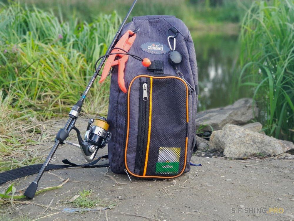 Экипировка: Сумка-рюкзак для ходовой рыбалки - Следопыт SLING SHOULDER BAG