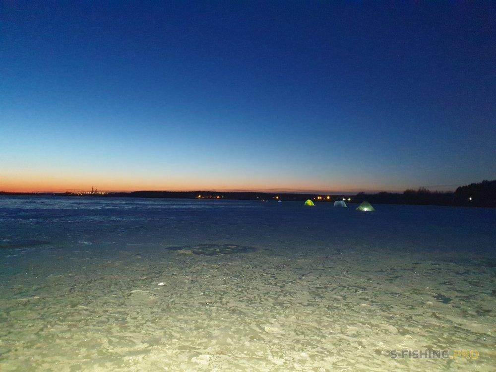 Отчеты с водоемов: БВХ (Белгородское Водохранилище). 23.02.-24.02.2019