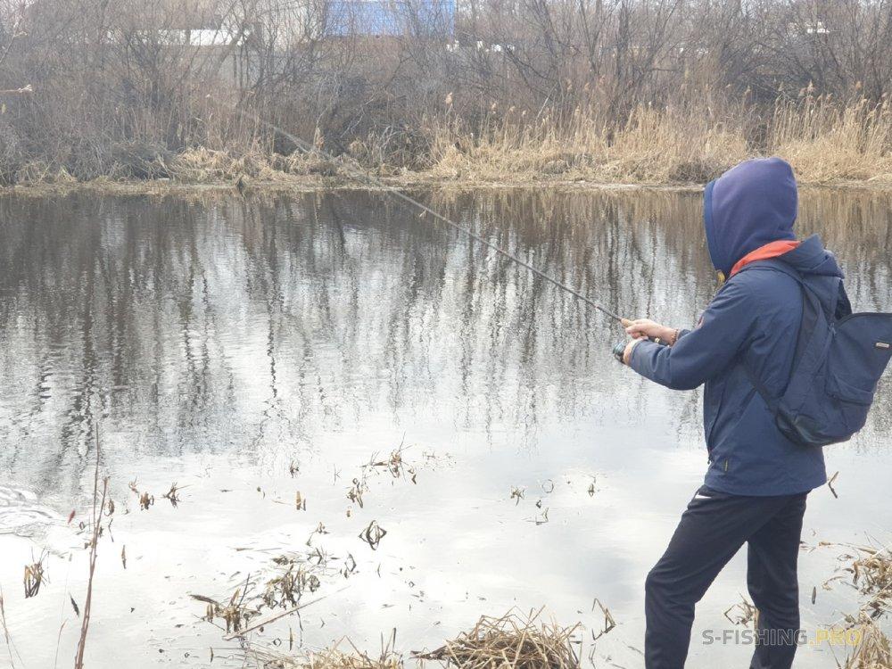 Отчеты с водоемов: Душевная рыбалка на новой малой реке