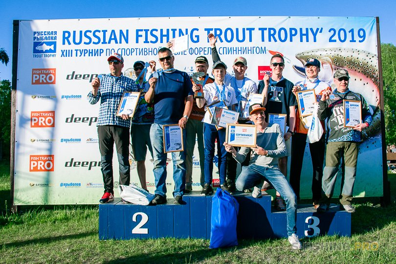 Мероприятия: Russian Fishing Trout Trophy 2019