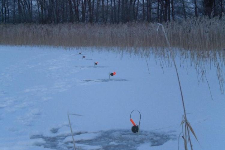 Немного о зимней рыбалке)))