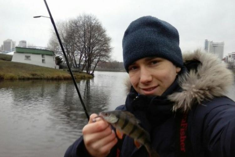 Рыбалка в черте города.