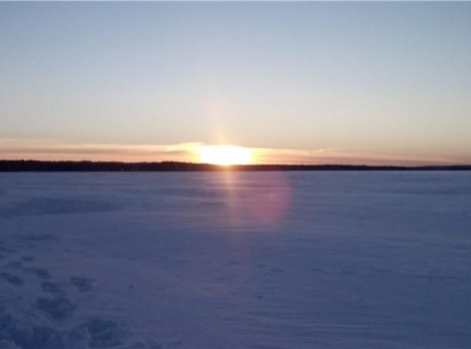 Хитрый зимний лещ :)