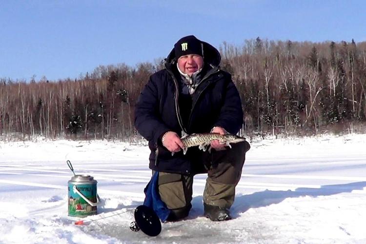 Зимняя рыбалка 1 часть 22.01.2016 FishinGaltsev