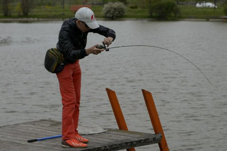 Ловля прудовой форели + обзор Tsuribito Vios 632L