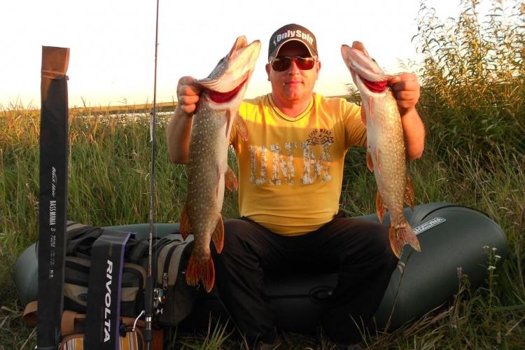 Лучшая рыбалка по щуке сезона 2015!