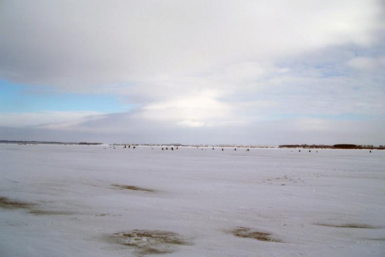День влюбленных в зимнюю рыбалку.