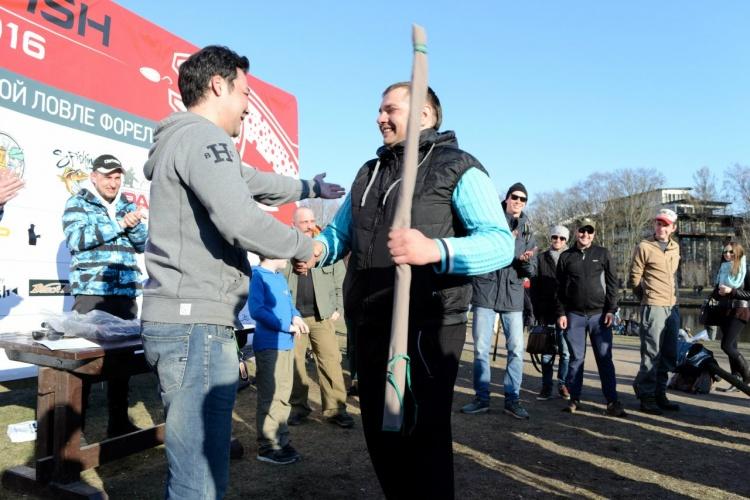 Дмитрий Кин о RED FISH CUP 2016 30 апреля