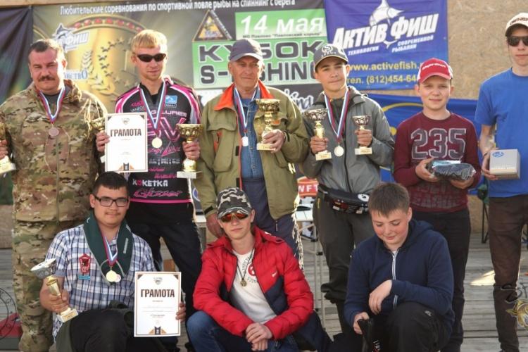 Кубок S-Fishing, интересная и нелегкая борьба, за право быть победителем!