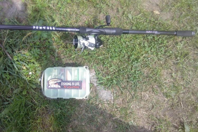 Знакомство со спиннингом WFT Penzil Drop Shot 2.70m , 5-45g