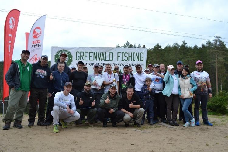 КУБОК REDFISH открытие осеннего сезона в GREENVALD FISHING