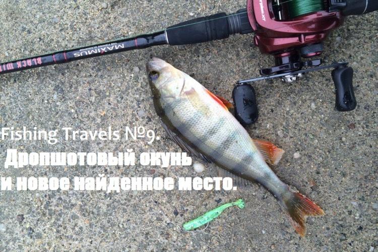 Fishing Travels №9.  Дропшотовый окунь и новое найденное место.