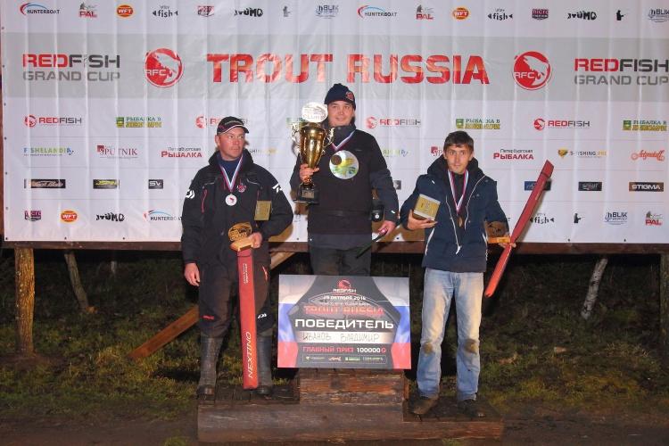 Отчет с турнира TROUT RUSSIA 2016