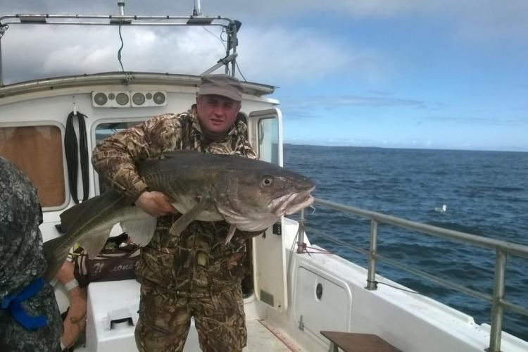 Рыбалка в Мурманске и моя трофейная треска на 22 Кг!