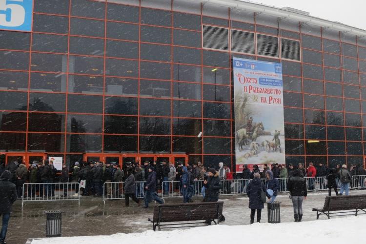 Выставка Охота и рыбалка на Руси 2017 весна