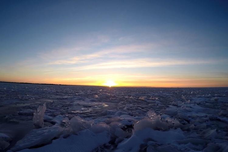 Ловля Корюшки Финский залив,Дамба