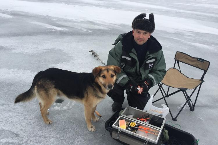 Ловля Корюшки в Приморске , Финский залив