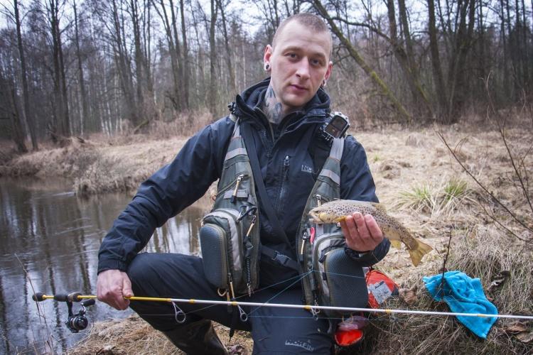 Ловля ручьевой форели на спинниг WFT jdm pro