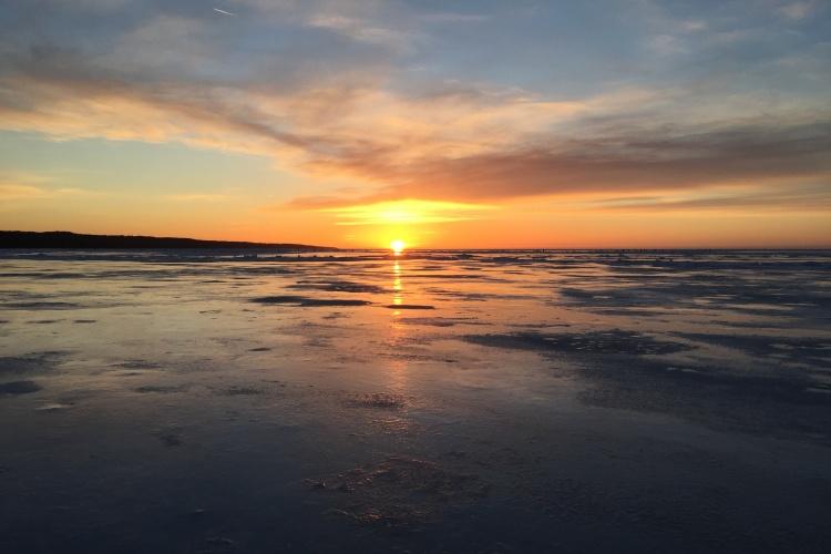 Ловля Корюшку.Рыбалка на Финском Заливе