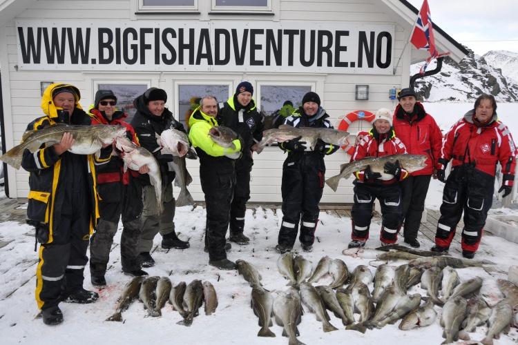 А ты поймал свой самый желанный трофей на краю земли-севере Норвегии?