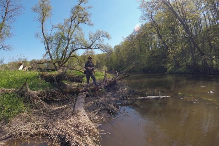 Субботняя рыбалка на безумно красивой речке