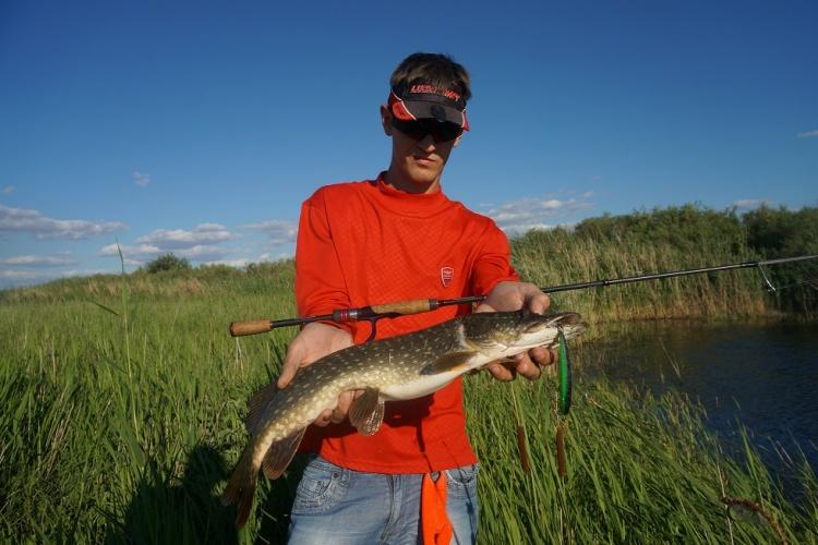 Рыбалка на реке безымянная