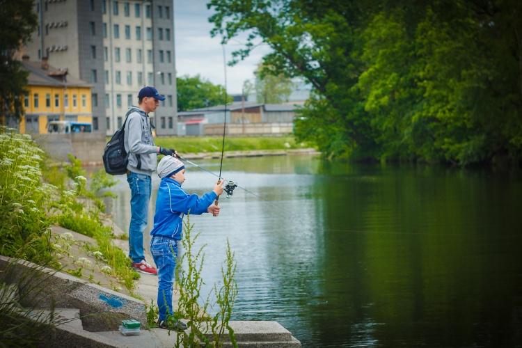 Субботний Streetfishing  и новый трофей.