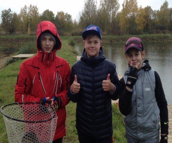 Команда юных форелистов - или как мы тренировались на Рыбных Прудах.