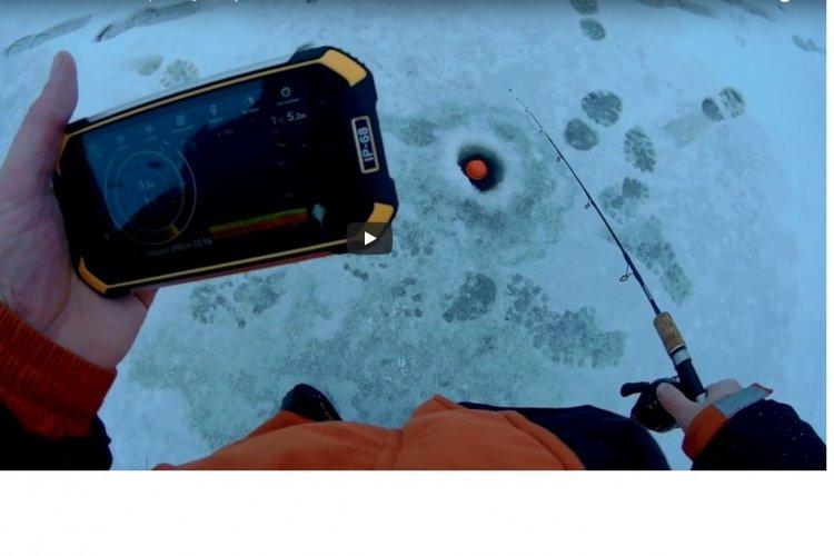 Зимняя рыбалка на Ратлины с Алиэкспресс. Щука , окунь на Vib