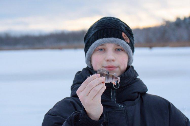 Первый опыт с зимними блеснами. Кубок Федерации Рыболовного Спорта СПБ