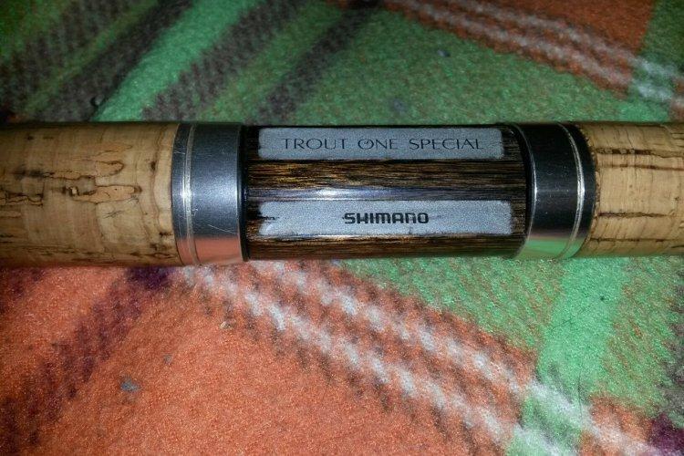 Первый взгляд на Shimano Trout One SP 56SUL