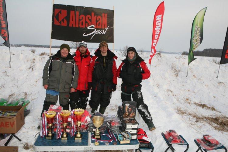 """Кубок клуба """"Аляскан Спорт-Фишинг"""" по ловле на мормышку со льда."""
