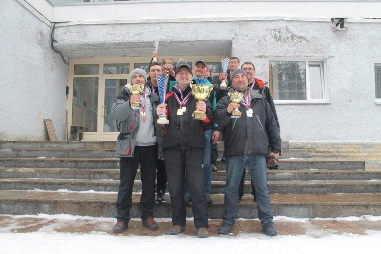 Открытый Чемпионат Санкт-Петербурга по ловле рыбы блесной со льда 2018.