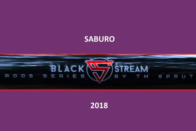 Спиннинги SABURO Black Stream Rods Series.