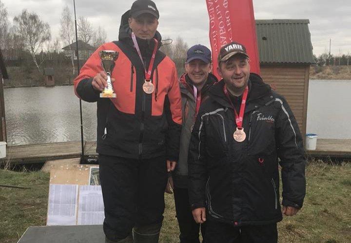Чемпионат Московской области по ловле рыбы с берега