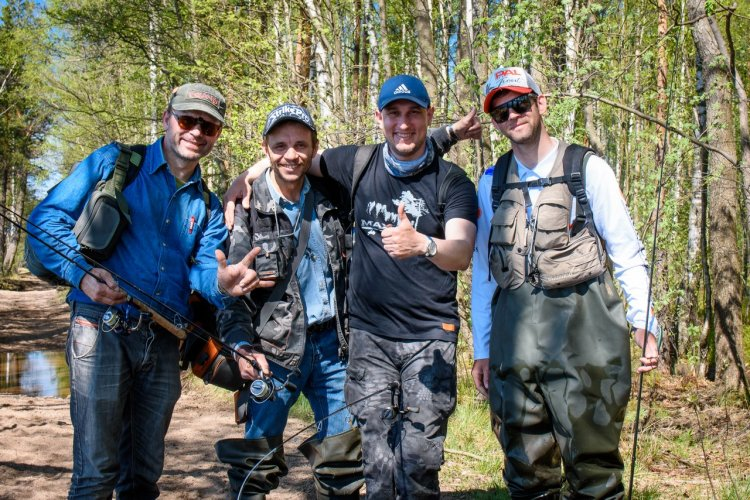 Тренировки перед КУБКОМ S-FISHING.PRO 2018 «Большой Куш»