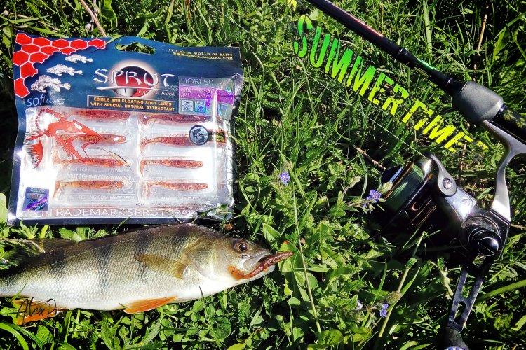 Диагноз: Терминатор. Рыбалка налегке с приманкой SPRUT HORI 50.