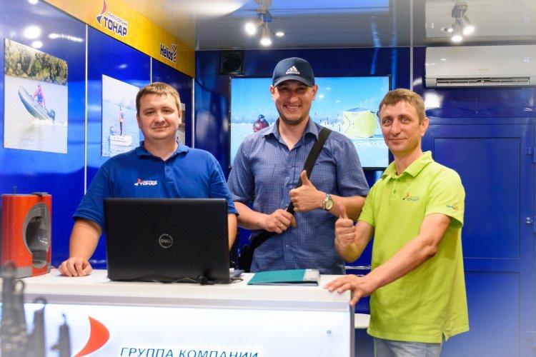 Передвижная выставка ТОНАР, путешествие по России.