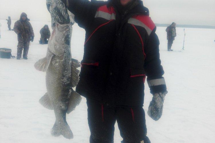 Отчет о рыбалке: 17 декабря 2016 - 21 декабря 2016, Волга (Горьковское водохранилище)
