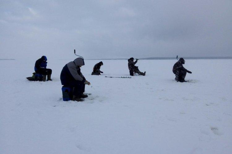 Отчет о рыбалке: 21 января 2017 - 22 января 2017, Волга (Горьковское водохранилище)